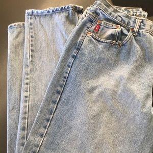 Gently loved LEI pierced jeans
